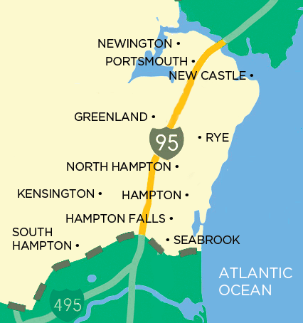 seacoast map